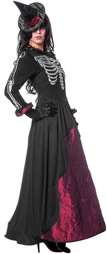 Halloween Jurk Dames Goddes of Death-2