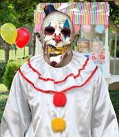 Mime Zack Clown Masker Latex Luxe (voorbeeld)