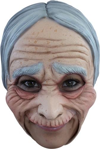 Masker Oude Vrouw / Sarah Latex (Kinloos)
