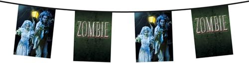 Vlaggenlijn Dubbelzijdig Zombie (6m)
