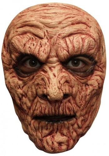 Verbrande Zombie Gezichtsmasker (Latex)