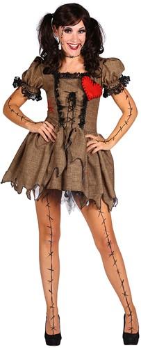 Dameskostuum Doll Halloween