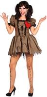 Dameskostuum Doll Halloween-2