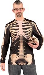 Fotorealistisch T-Shirt Skelet Geraamte