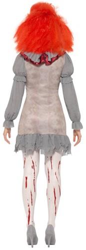 Dameskostuum Scary Clown IT Pennywise (achterkant)