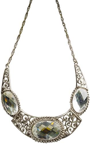 Halsketting Zilver Luxe