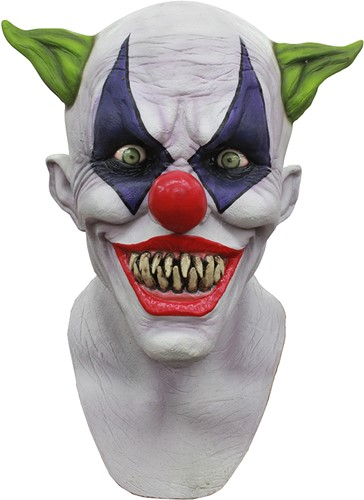 Masker Giggly Clown Latex Luxe