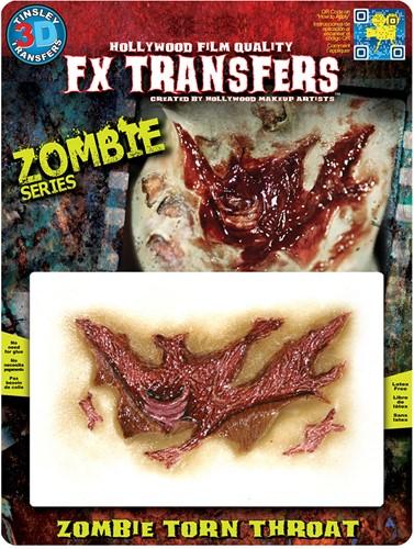 Wond Zombie Torn Throat (professioneel)