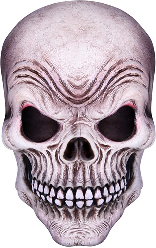 Masker Latex Grinning Skull Doodshoofd