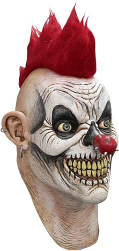Masker Punky Evil Clown Latex Luxe