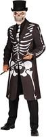 Halloween Jas Skelet Luxe voor heren-2