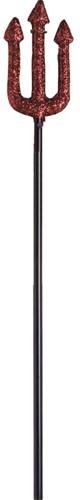 Duivel Drietand Glitter (58cm)
