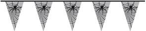 Vlaggenlijn Spinnen (6m)