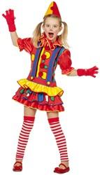 Clownsjurkje Bubbles voor meisjes