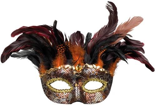 Venetiaans Oogmasker Voodoo Marasa Luxe