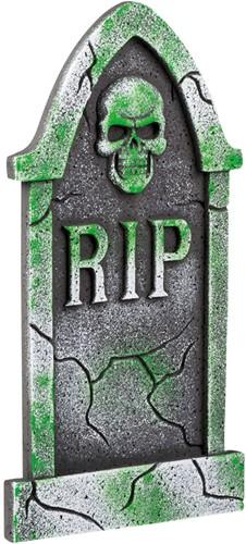 Grafsteen Doodshoofd met Vleugels RIP (50x30cm)