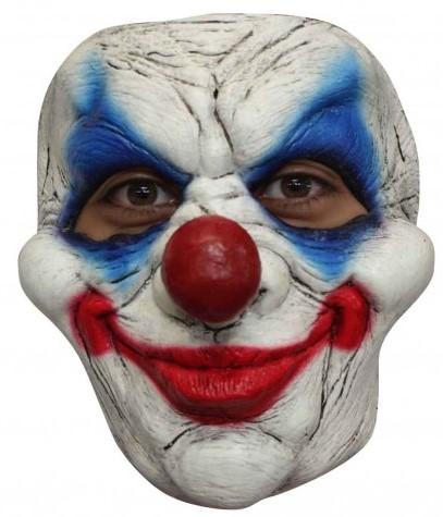 Latex Gezichtsmasker Clown