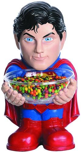 Snoepschaal met Houder Superman (40cm)