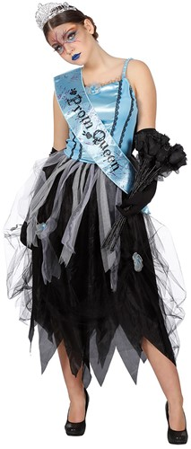 Halloweenjurk Bloody Prom Queen voor dames