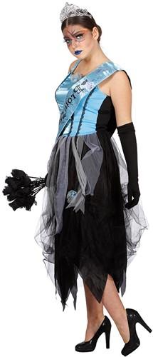 Halloween Jurk Zombie Prom Queen voor dames -2