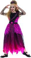 Halloween Jurk Prom Queen - 128/140-2