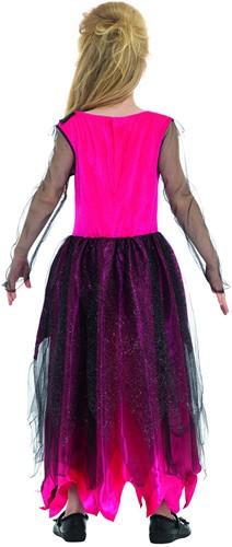 Halloween Jurk Prom Queen voor meisjes (achterkant)