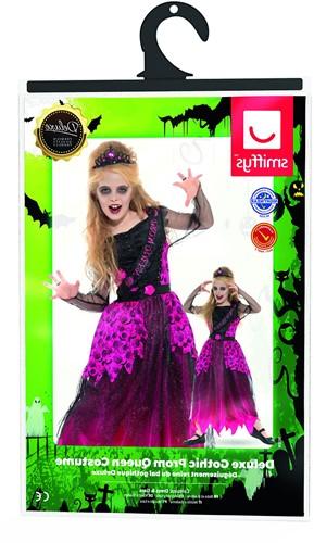 Halloween Jurk Prom Queen voor meisjes (verpakking)