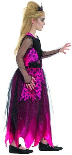Halloween Jurk Prom Queen - 128/140-3