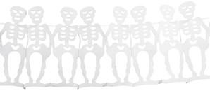 Guirlande Witte Skelet (4m)