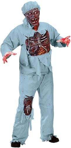 Kostuum Zombie Chirurg (7dlg)