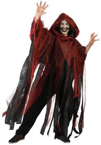 Halloween Cape Stroken Rood