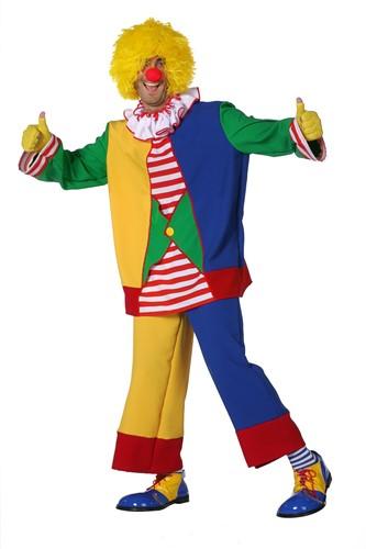 Clown Multi Herenkostuum