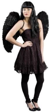 Engelenvleugels Zwart (87x72cm)