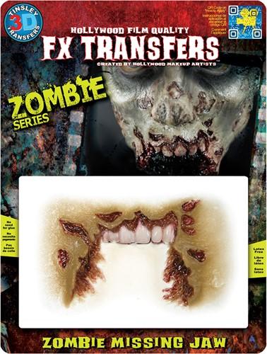 Wond Zombie Missing Jaw (professioneel)
