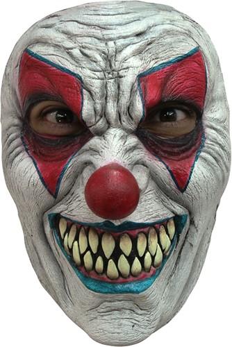 Masker Evil Clown Latex (Gezichtsmasker)