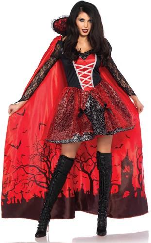 Vampire Temptress Jurk voor dames