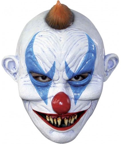 Latex Masker Creepy Clown Luxe