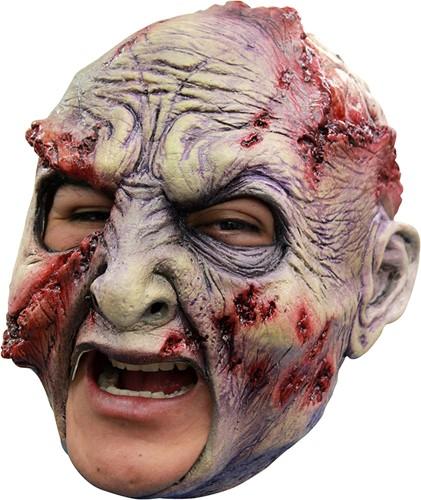 Masker Rotten Zombie Latex (Kinloos)