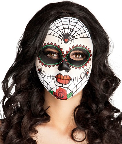Mrs. Day of the Dead Masker