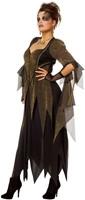 Heksenjurk Golden Witch voor dames -2