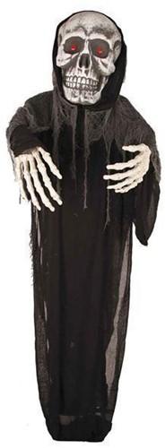 Hangdecoratie Halloween Skull met LED (275cm)