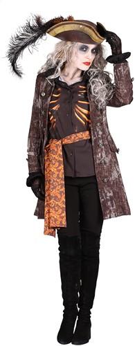 Halloween Dames Kostuum Ghost Pirate-2