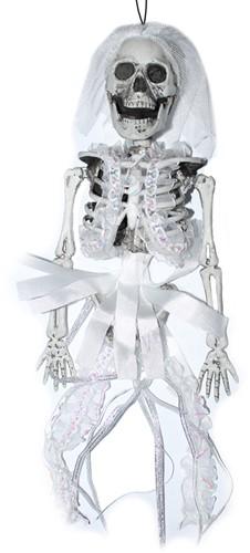 Hangdecoratie Bruid Skelet 35cm