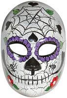Masker Day of the Dead (geschilderd)