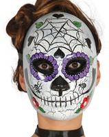 Masker Day of the Dead (geschilderd)-2