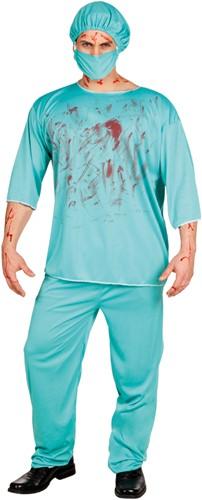 Halloweenkostuum Bloody Chirurg