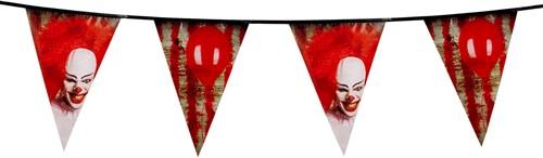 Vlaggenlijn Horror Clown Pennywise (6m)