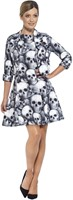 Dameskostuum Skeleton Skulls