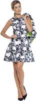 Dameskostuum Skeleton Skulls-2
