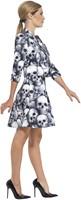 Dameskostuum Skeleton Skulls-3